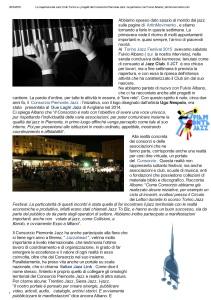 La riapertura del Jazz Club Torino e i ...con Fulvio Albano _ artinmovimento.com